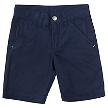 Buy Polarn O. Pyret Boys' Chino Shorts, Navy Online at johnlewis.com
