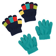 Buy John Lewis Magic Baby Gloves, Pack of 2, Multi, One Size Online at johnlewis.com