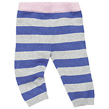 Buy John Lewis Stripe Knit Leggings, Multi Online at johnlewis.com