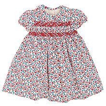 Buy John Lewis Berry Print Smock Dress, Cream/Multi Online at johnlewis.com