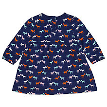 Buy John Lewis Horse Jersey Dress, Navy Online at johnlewis.com
