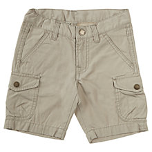Buy Polarn O. Pyret Child Cargo Shorts, Khaki Online at johnlewis.com
