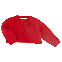 Buy John Lewis Knitted Shrug, Red Online at johnlewis.com