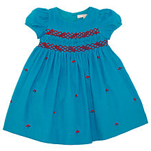 Buy John Lewis Berry Smock Dress, Blue Online at johnlewis.com