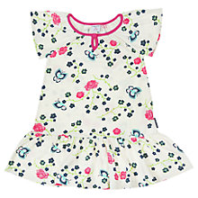 Buy Polarn O. Pyret Girls' Floral Print Jersey Dress Online at johnlewis.com