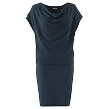 Buy Jigsaw Summer Rice Dress, Slate Blue Online at johnlewis.com