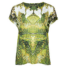 Buy Ted Baker Tropical Doves T-Shirt, Olive Online at johnlewis.com