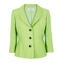 Buy Precis Petite Crinkle Jacket, Lime Online at johnlewis.com