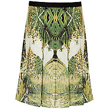 Buy Ted Baker Tropical Doves Skirt, Olive Online at johnlewis.com
