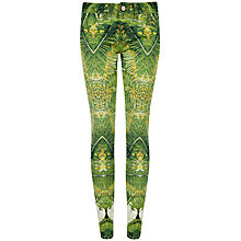 Buy Ted Baker Tropical Doves Jeans, Olive Online at johnlewis.com