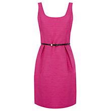 Buy Oasis Ria Lantern Dress, Bright Pink Online at johnlewis.com