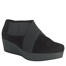 Buy John Lewis Designed For Comfort X Curve Shoe Boots, Black Online at johnlewis.com