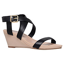Buy Carvela Kouple Mid Heel Wedges Online at johnlewis.com