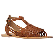 Buy Carvela Karma Woven Leather Sandals Online at johnlewis.com