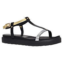 Buy KG by Kurt Geiger Neptune Sandals, Black Online at johnlewis.com