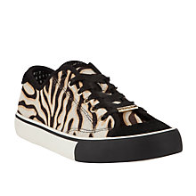 Buy DKNY Barbara Pony Trainers, Tiger Print Online at johnlewis.com