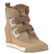 Buy DKNY Chamonix Wedge Heeeled Trainers Online at johnlewis.com