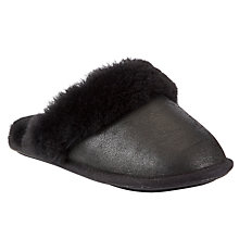 Buy John Lewis Distressed Sheepskin Mule Online at johnlewis.com