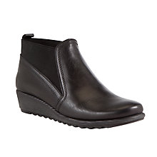 Buy John Lewis Designed for Comfort Gullemot Leather Ankle Boots Online at johnlewis.com