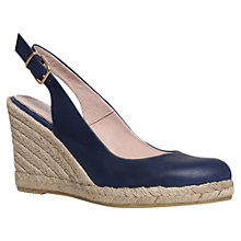 Buy Carvela Kat High Heel Leather Wedges Online at johnlewis.com