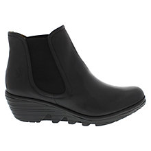 Buy Fly Phil Leather Ankle Boots, Black Online at johnlewis.com
