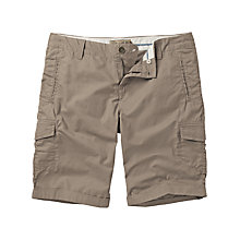 Buy Fat Face Combat Turn-up Shorts, Rock Online at johnlewis.com