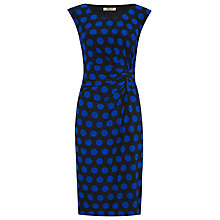 Buy Precis Petite Polka Dot Jersey Dress, Multi Dark Online at johnlewis.com