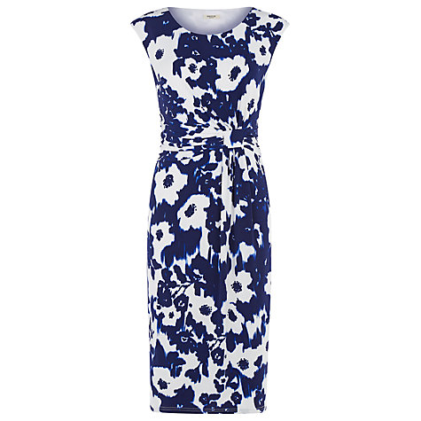Buy Precis Petite Ikat Print Jersey Dress, Multi Dark Online at johnlewis.com