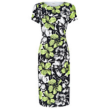 Buy Precis Petite Lime Floral Print Dress, Multi Online at johnlewis.com