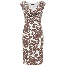 Buy Phase Eight Leanne Dress, Praline/Ivory Online at johnlewis.com
