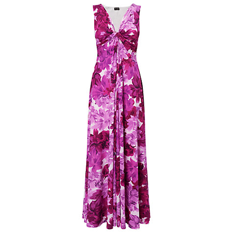 Buy Phase Eight Tea Rose Maxi Dress, Orchid Online at johnlewis.com