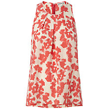 Buy Whistles Blotted Floral Swing Top, Multi Online at johnlewis.com