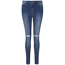 Buy Whistles Distressed Maysa Skinny Jeans, Denim Online at johnlewis.com