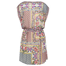 Buy Warehouse Pretty Floral Patch Dress, Multi Online at johnlewis.com