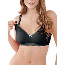 Buy Bravado Sweet Pea Maternity and Nursing Bra, Black Liquorice Online at johnlewis.com