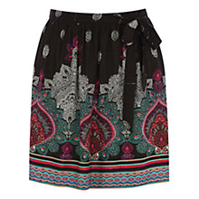 Buy Warehouse Tribal Placement Skater Skirt, Multi Online at johnlewis.com
