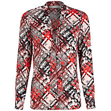 Buy Planet Checked Blouse, Multi Online at johnlewis.com