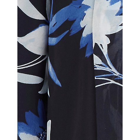 Buy Jacques Vert Dark Tropical Cover Up, Multi Navy Online at johnlewis.com