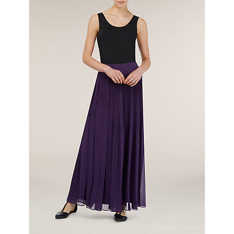 Buy Kaliko Pleated Maxi Skirt Online at johnlewis.com
