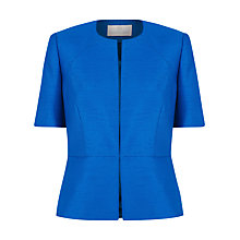 Buy Jacques Vert Short Sleeve Jacket, Delphinium Online at johnlewis.com