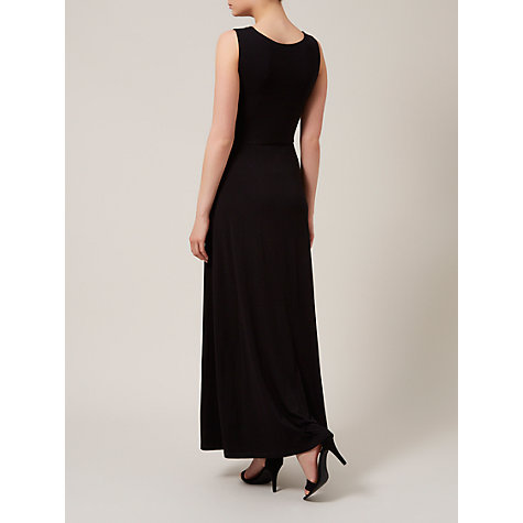 Buy Kaliko Cross Over Maxi Dress, Black Online at johnlewis.com