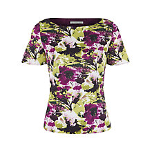 Buy Jacques Vert Bright Garden Floral Blouse, Multi Online at johnlewis.com