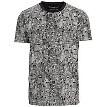 Buy Selected Homme Metropolis T-Shirt, Black Online at johnlewis.com