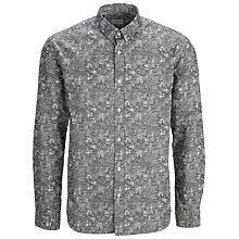 Buy Selected Homme Metropolis Daniel Van Der Noon Shirt, Grey Online at johnlewis.com
