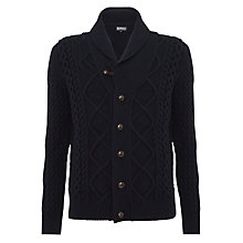 Buy Barbour Kirktown Shawl Lambswool Cardigan Online at johnlewis.com