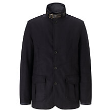 Buy Barbour Barkston Military Jacket, Navy Online at johnlewis.com