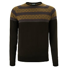 Buy John Smedley Essery Merino Wool Jumper, Charcoal Online at johnlewis.com
