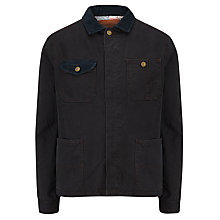 Buy Barbour International Steve McQueen™ Collection Reeves Field Jacket, Navy Online at johnlewis.com