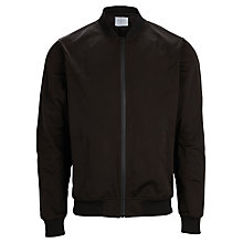 Buy Selected Homme Memory Bomber Jacket, Black Online at johnlewis.com