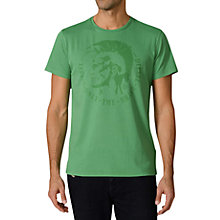 Buy Diesel T-Achell Crew Neck T-Shirt Online at johnlewis.com